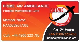 Prime Air Membership Card